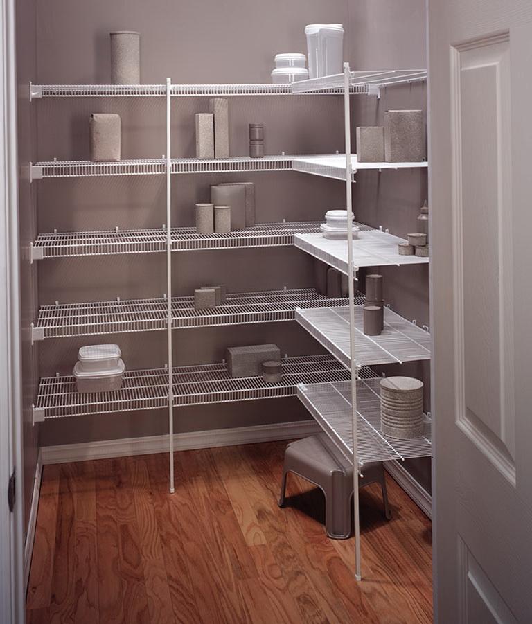 Closet Wire Shelving Ideas  Home Design Ideas