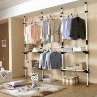 Open Wall Closet Ideas | Home Design Ideas