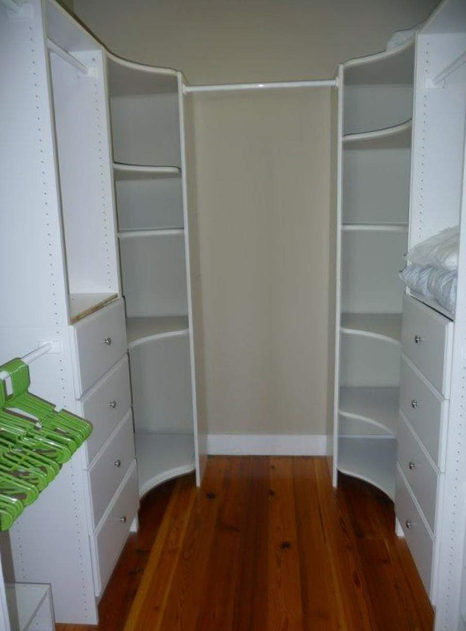 Walk In Closet Built Ins Home Design Ideas