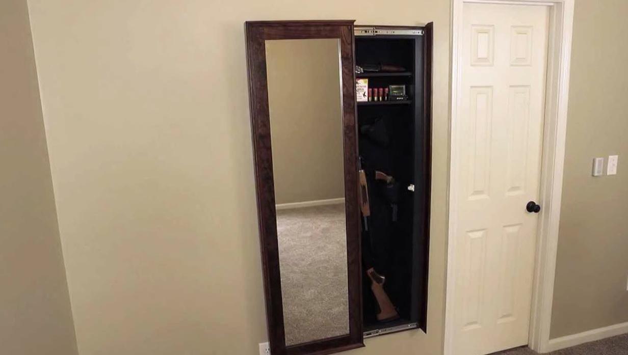 Walk In Closet Gun Safe  Home Design Ideas