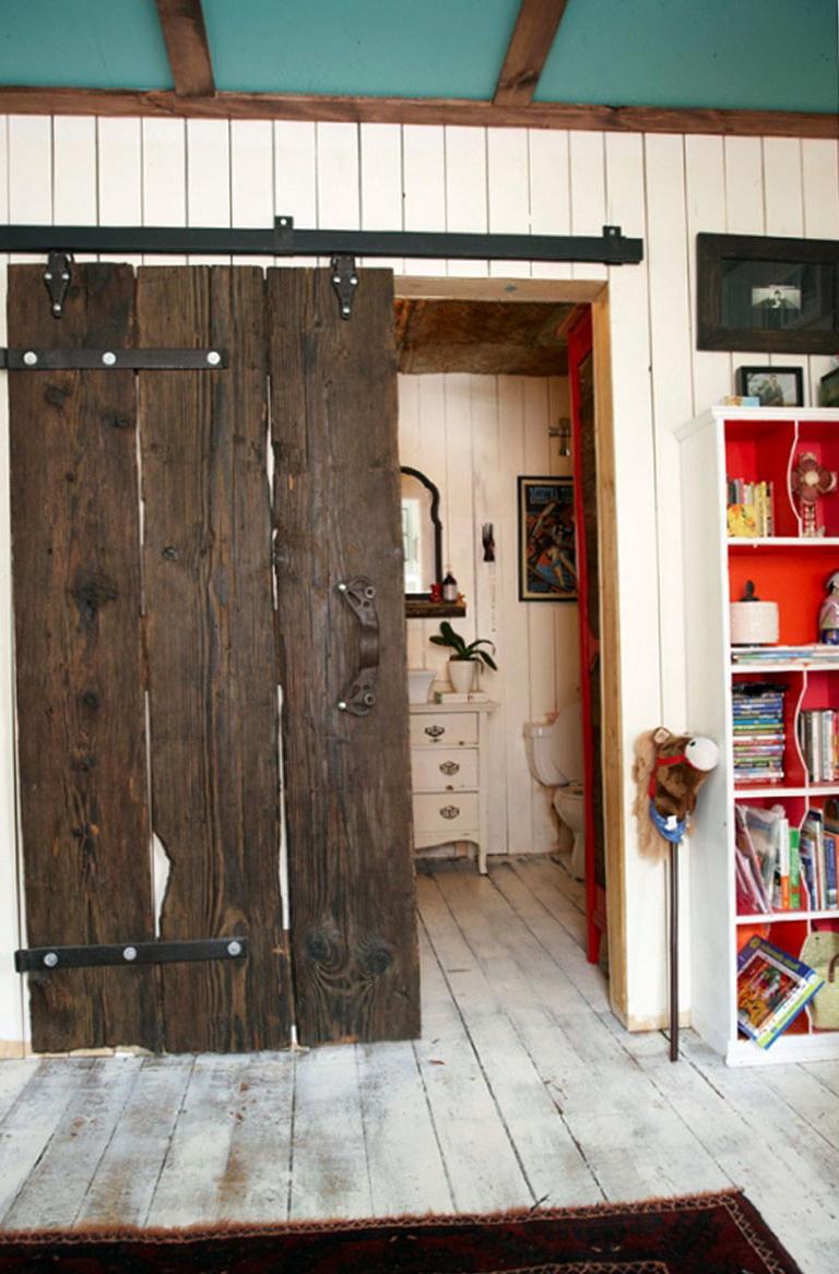 Barn Wood Closet Doors  Home Design Ideas