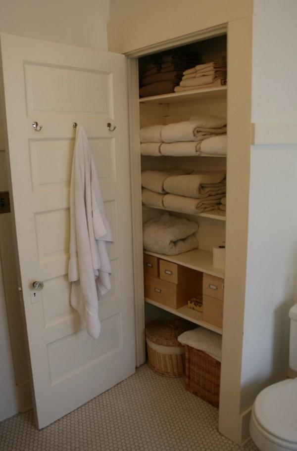 Bathroom Linen Closet Idea