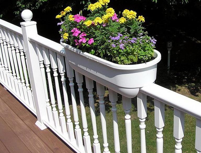 Deck Railing Planters Lowes