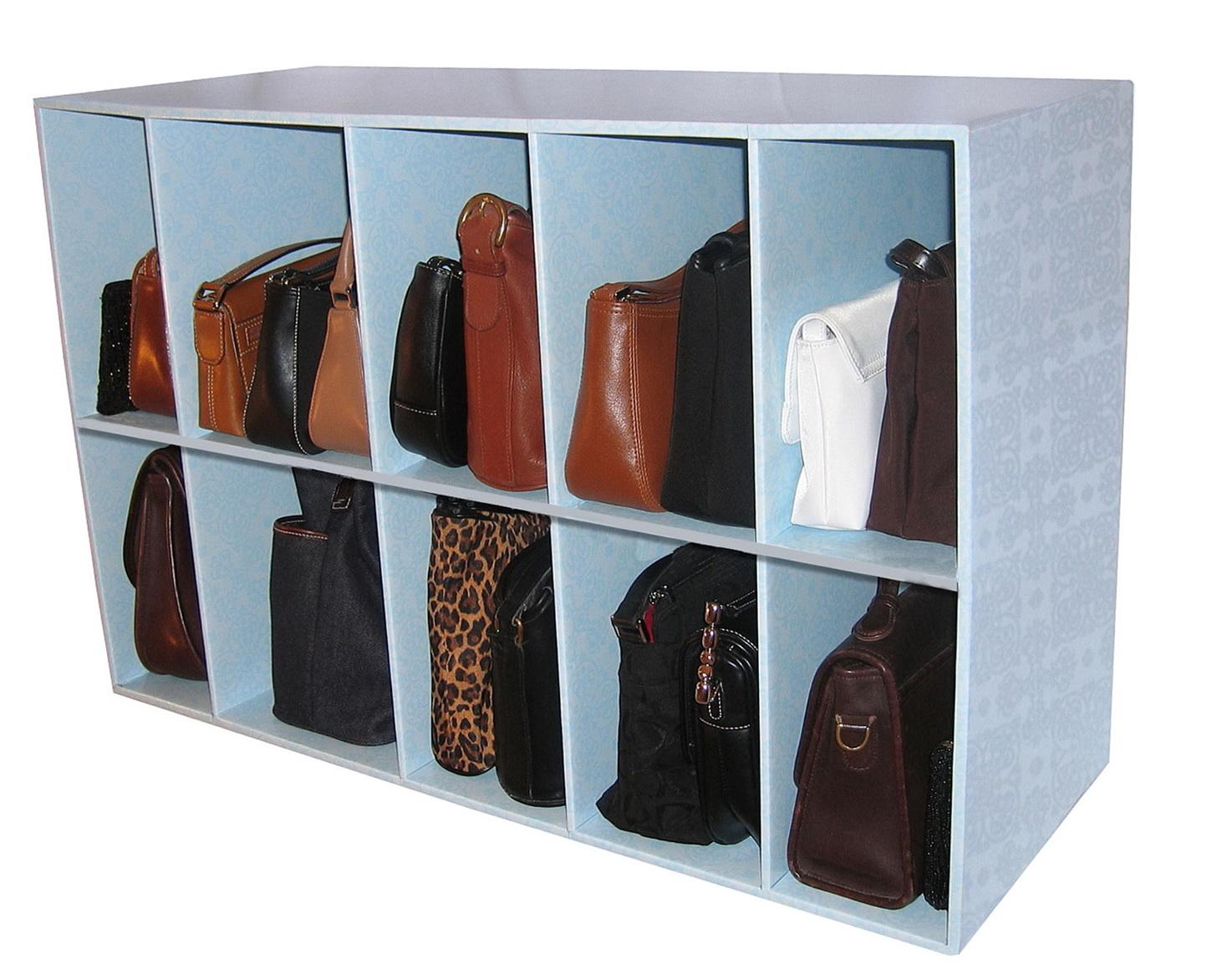 Shoe And Purse Closet Organizer Home Design Ideas