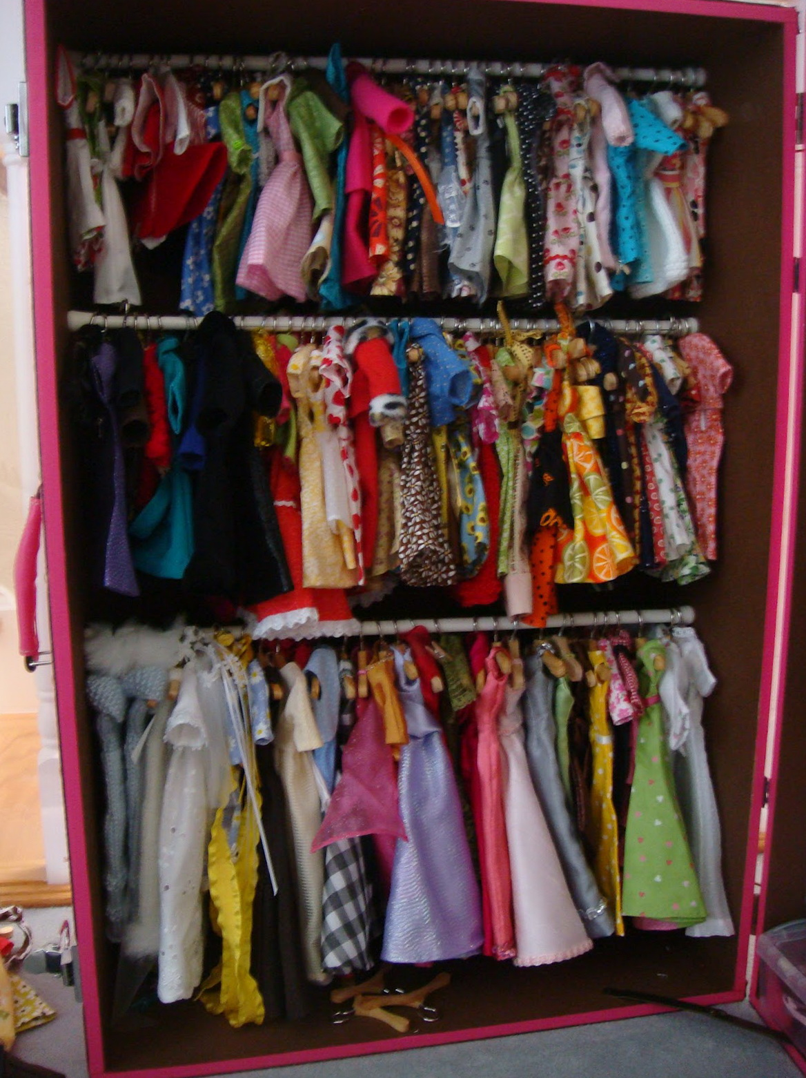 Barbie Doll Wardrobe Closet Home Design Ideas