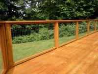 Wire Deck Railing Ideas | Home Design Ideas