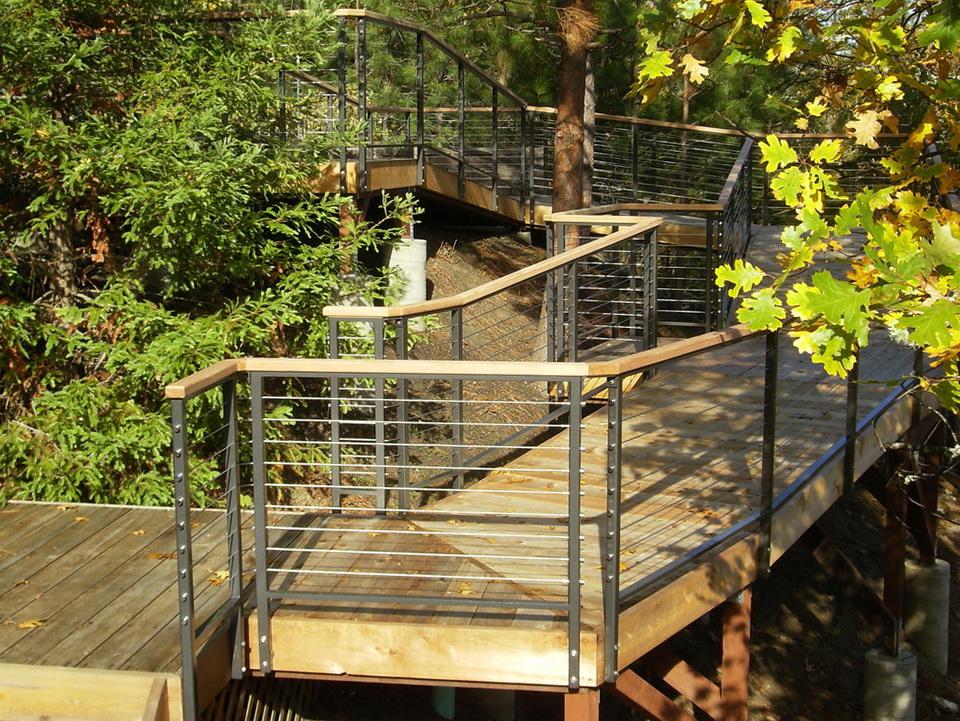 Modern Deck Railing Systems  Home Design Ideas