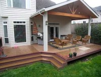 Outdoor Covered Deck Ideas | Home Design Ideas