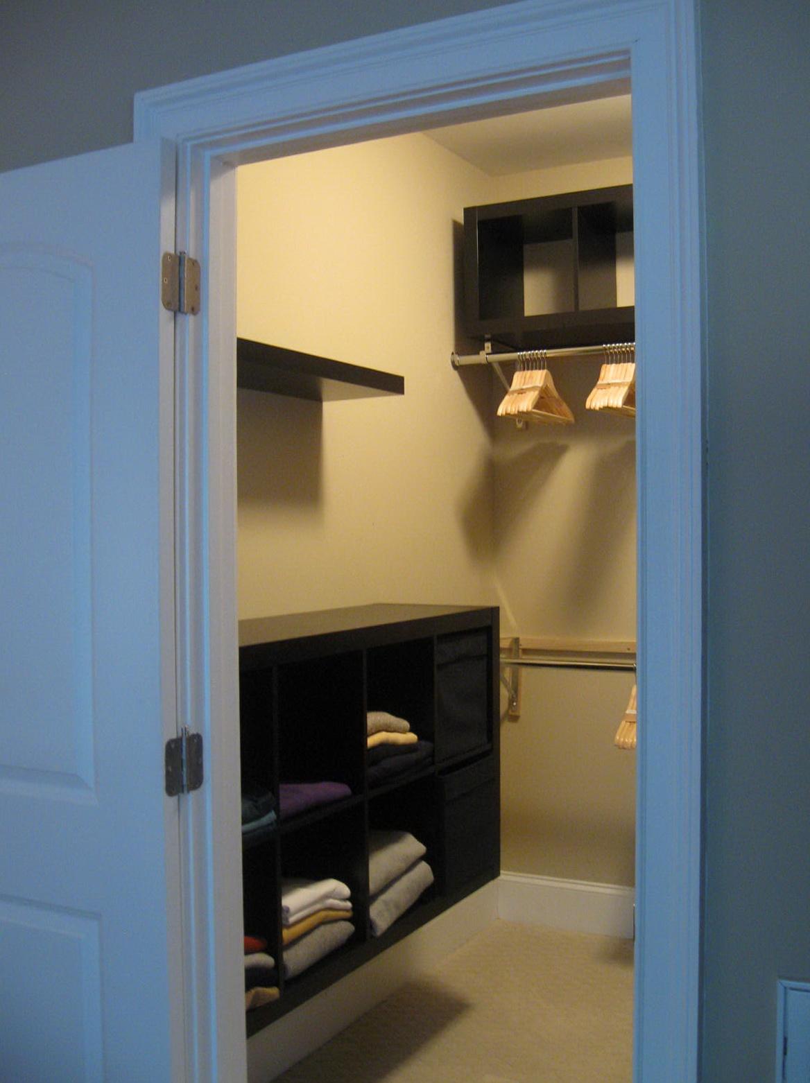 Simple Small Walk In Closet Designs  Home Design Ideas