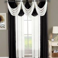 Black And White Sheer Curtains | Home Design Ideas