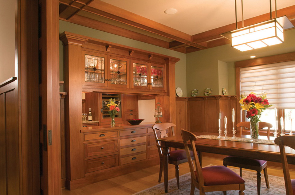 Craftsman Style Dining Room Chandeliers  Home Design Ideas