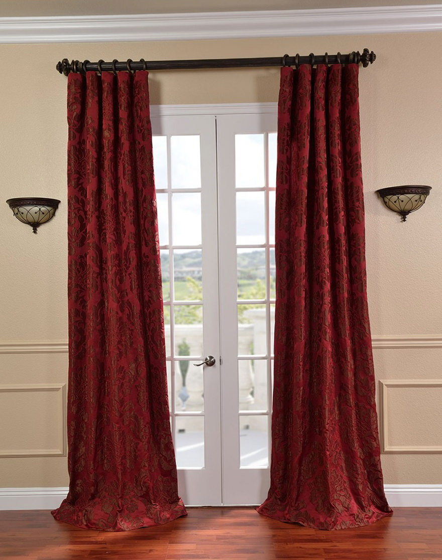 French Door Blackout Curtains