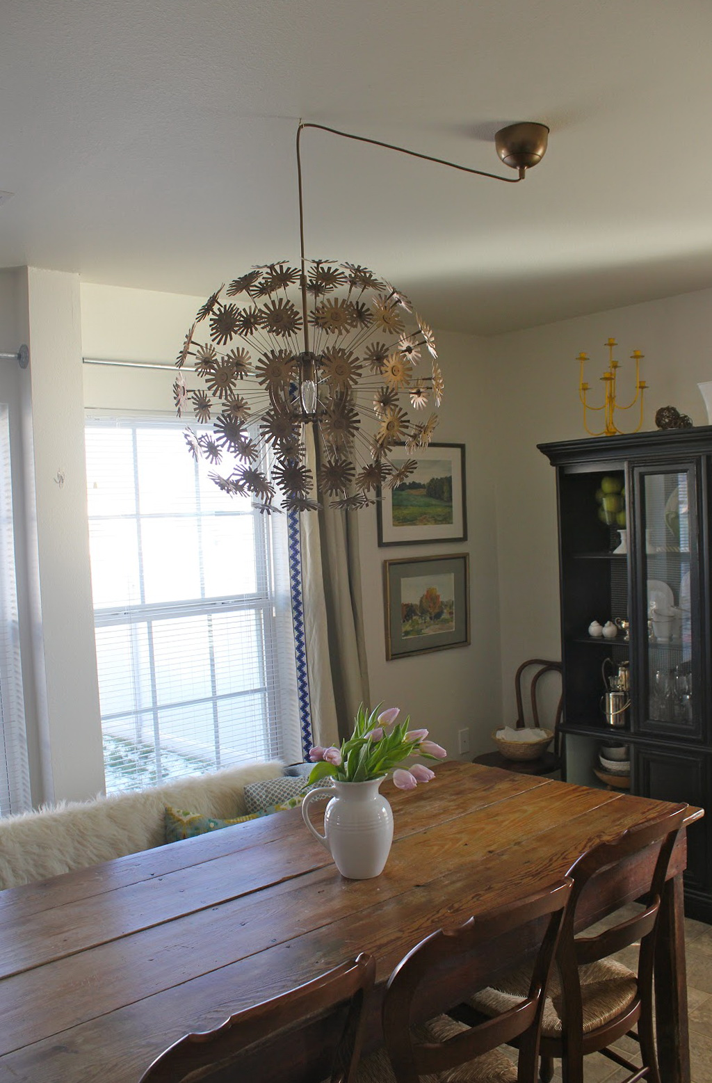 Hanging A Chandelier Off Center  Home Design Ideas