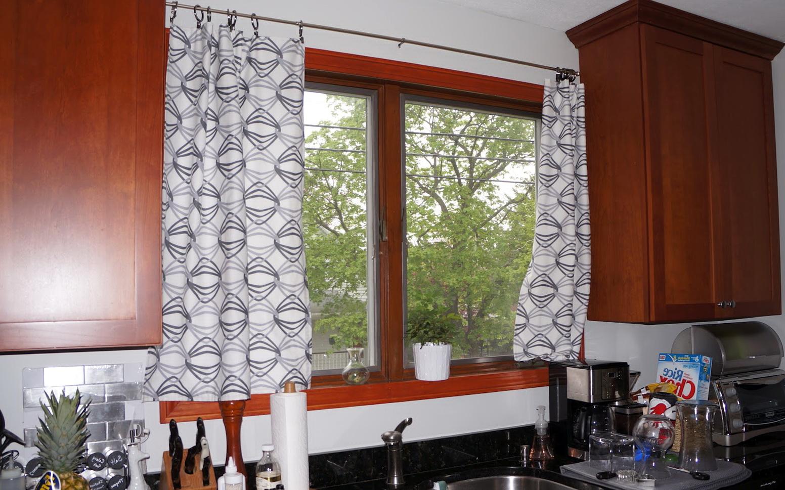 Modern Kitchen Curtains Pinterest  Home Design Ideas