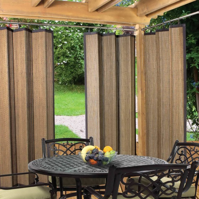Indoor Outdoor Curtains Walmart  Home Design Ideas