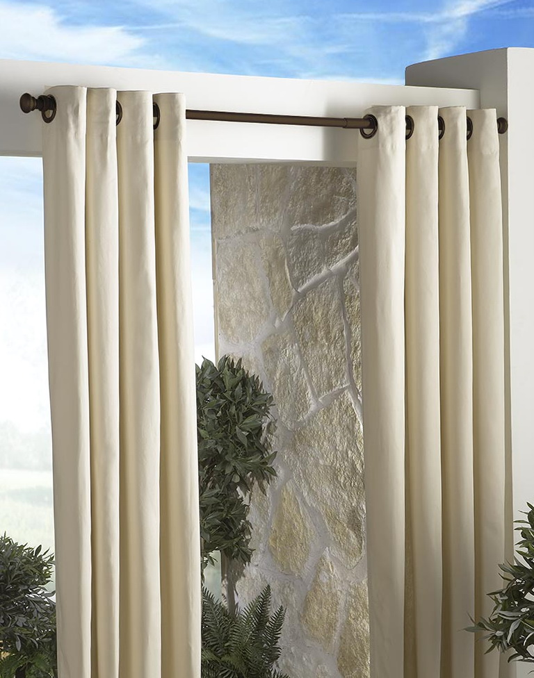Outdoor Shower Curtain Rods  Home Design Ideas