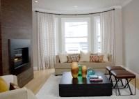 Round Bay Window Curtain Rods | Home Design Ideas