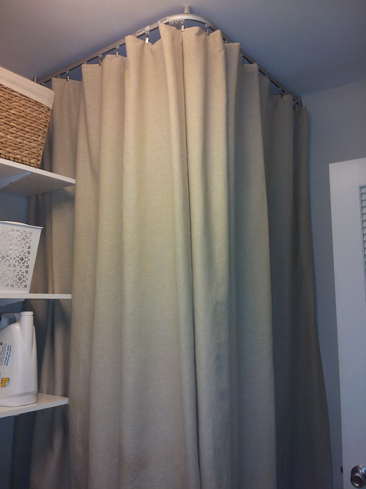 Ceiling Mount Curtain Track Ikea  Curtain Ideas