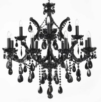 Contemporary Black Chandelier Lighting | Home Design Ideas