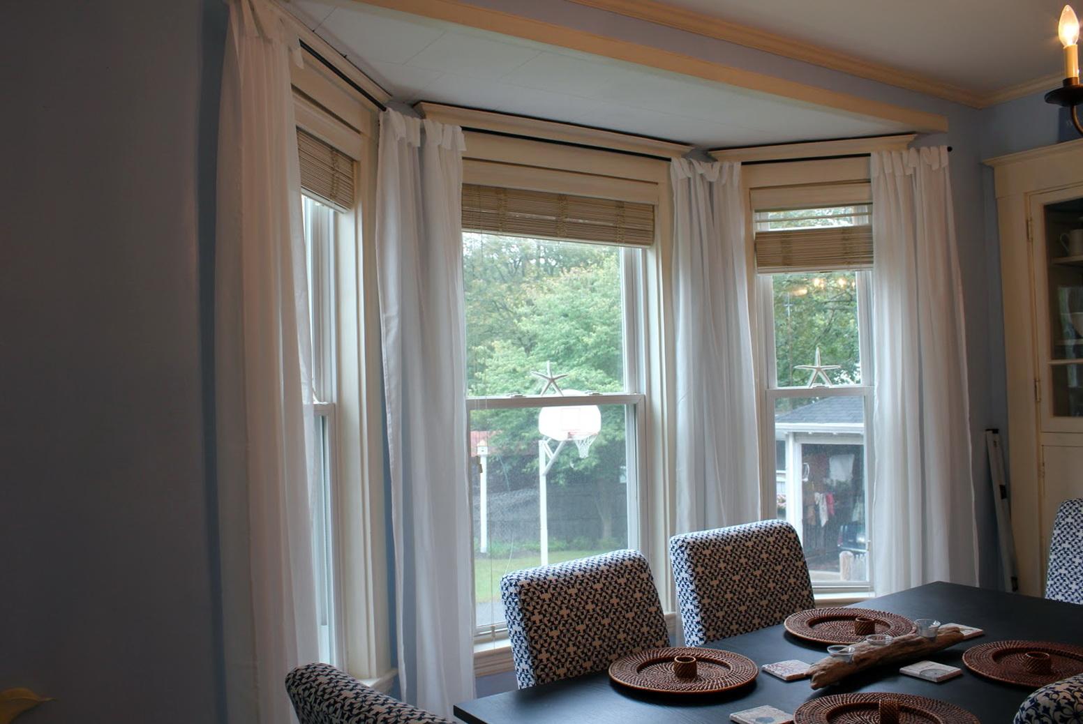Curtain Rod For Bay Window Canada Home Design Ideas