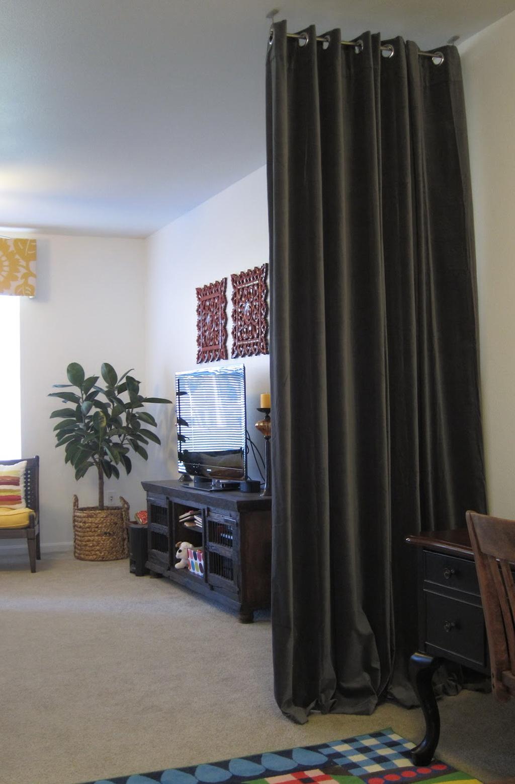 Dorm Room Divider Curtains Home Design Ideas