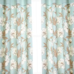 Ikea Chair Cushions Revolving In Pune Duck Egg Blue Patterned Curtains | Home Design Ideas