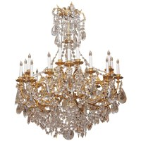 French Crystal Chandeliers Vintage | Home Design Ideas