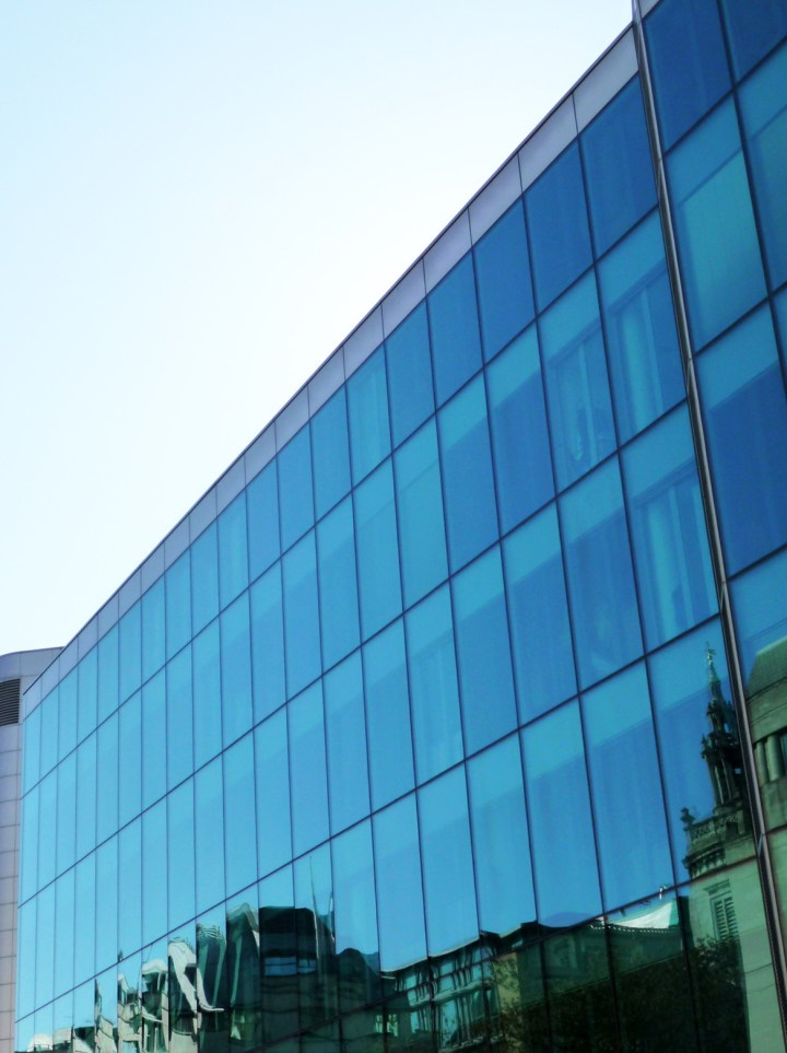 Kimmel Center Glass Curtain Wall Detail : Glass curtain wall elevation gopelling