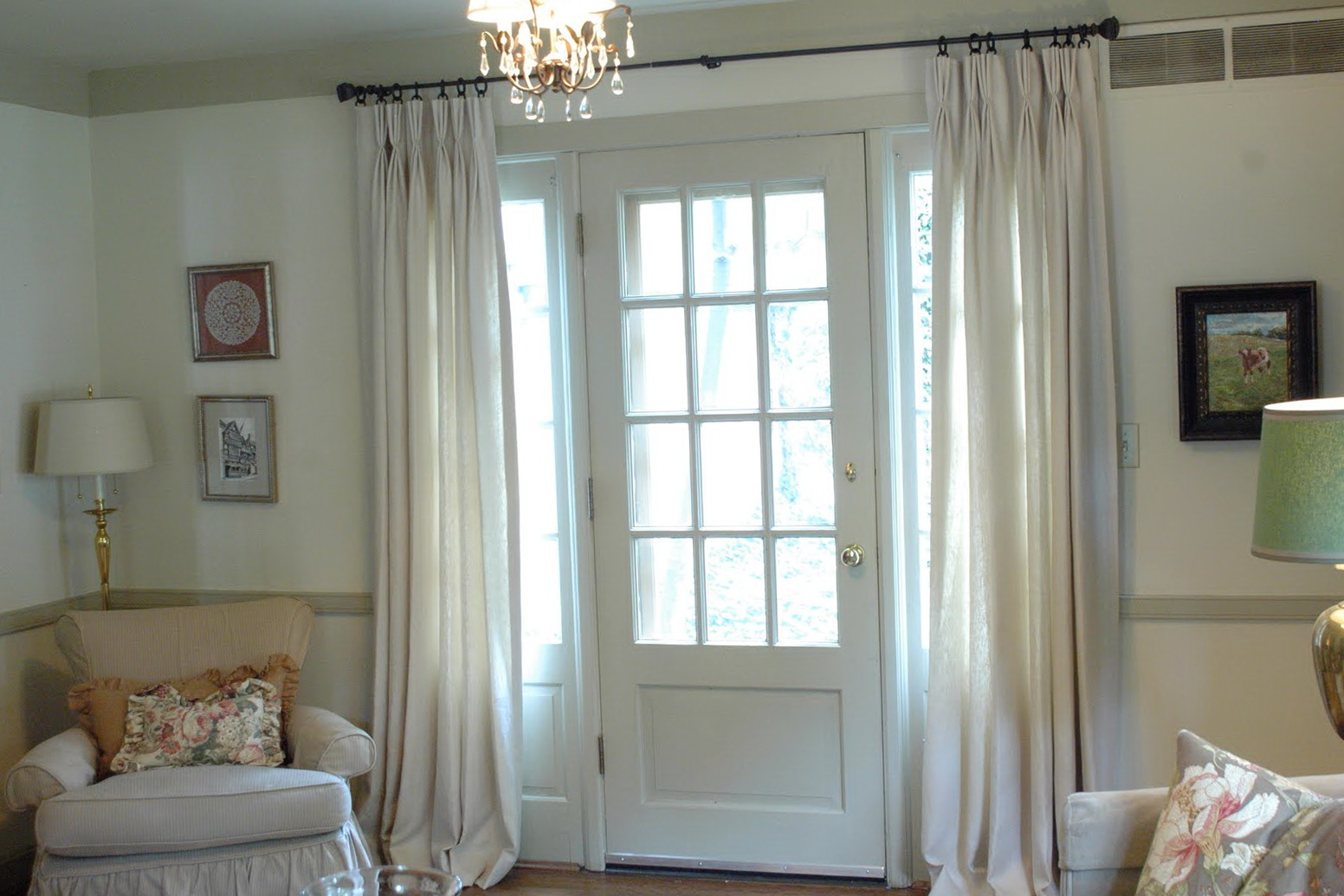 Hanging Curtains From Ceiling To Floor  Home Design Ideas