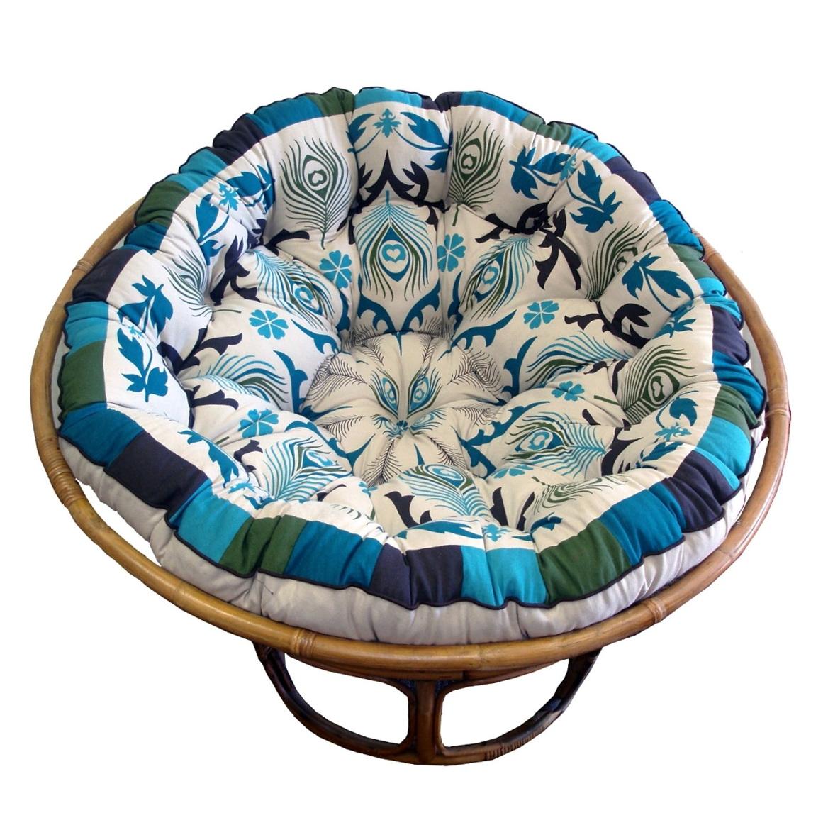papasan chair cushion covers diy upholstered chairs home design ideas