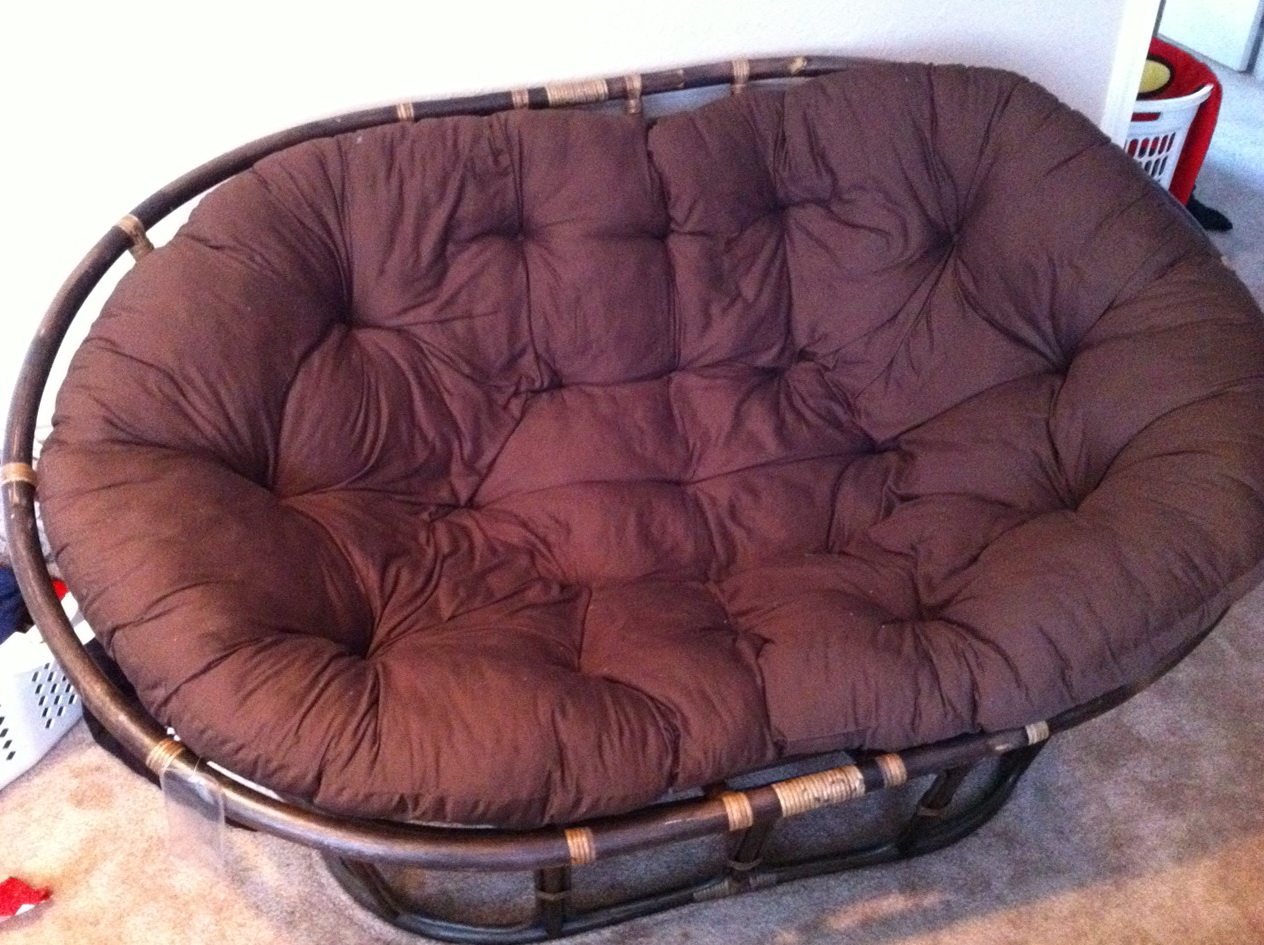 replacement papasan chair cushion tank wheelchair swivel rocker home design ideas