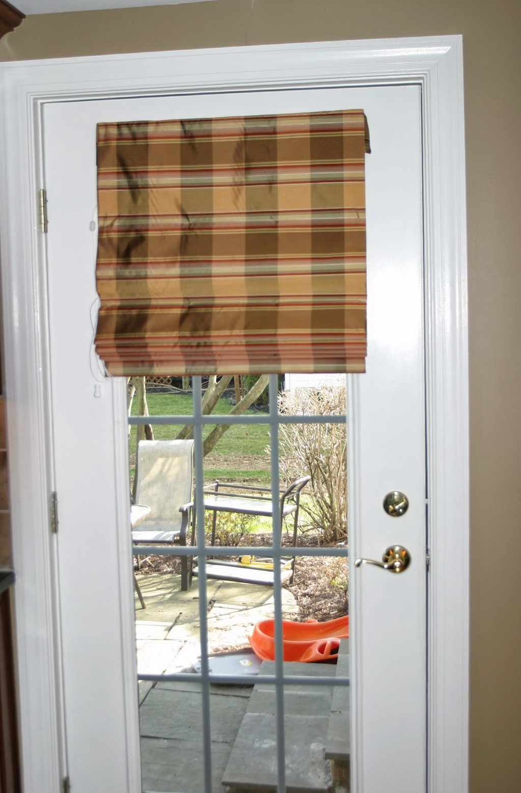 Roll Up Curtains For French Doors  Home Design Ideas