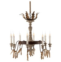 Rustic French Country Chandelier | Home Design Ideas