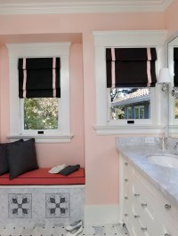 Black And White Bathroom Window Curtains | Home Design Ideas