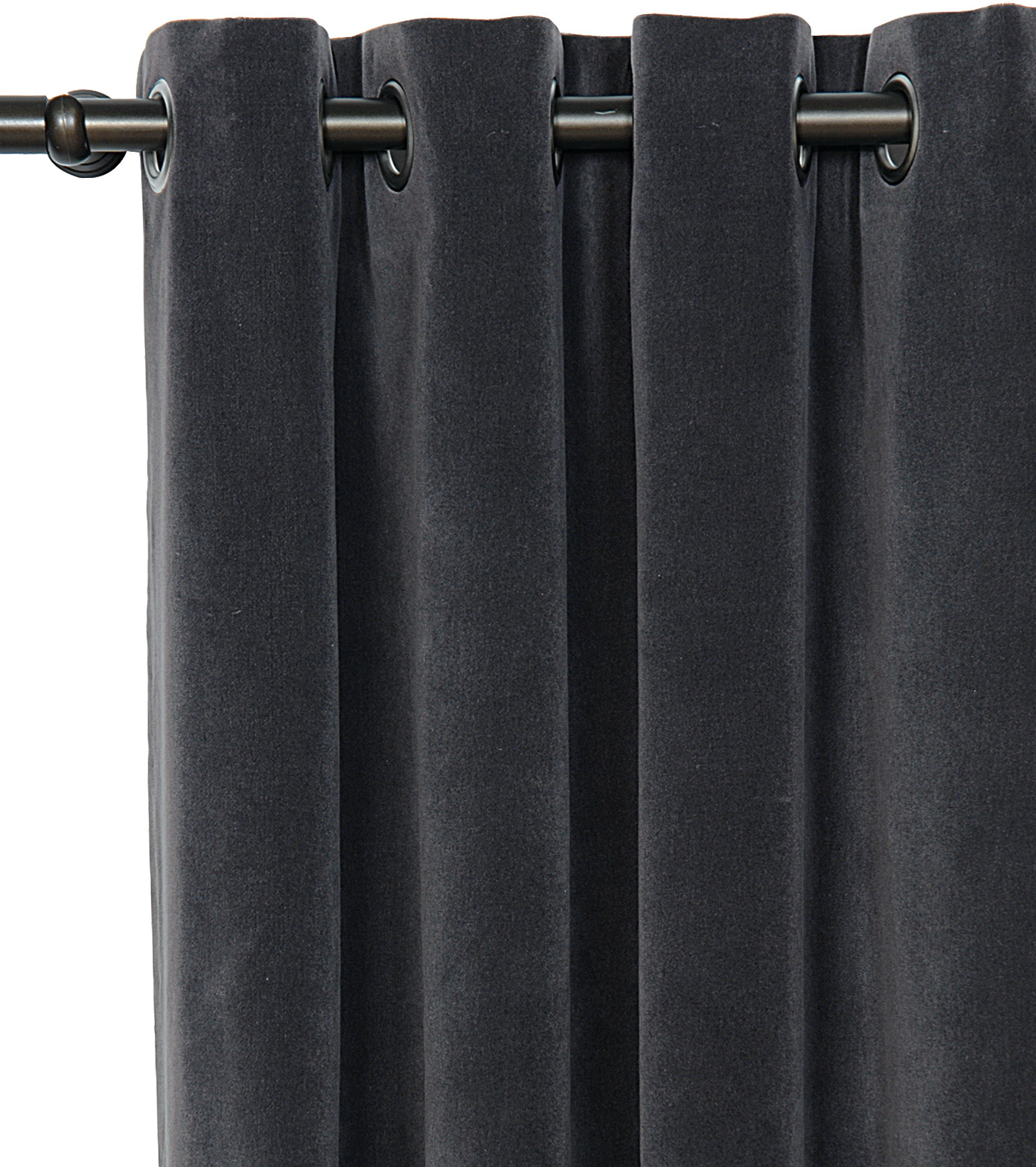 Dark Grey Velvet Curtains Home Design Ideas