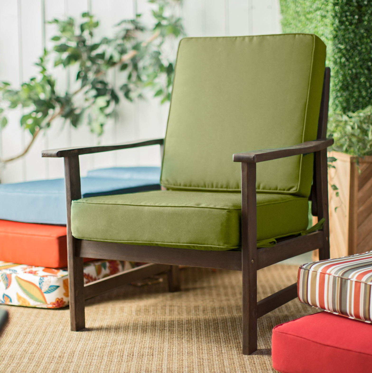 outdoor chair cushions sale mid century wire chairs deep seat on home design ideas
