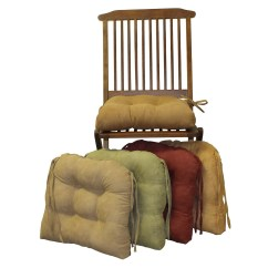 Chair Cushions With Ties Ikea Office Height Dining Home Design Ideas
