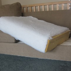 Diy How To Reupholster A Sofa Aloworld Chesterfield Settee Couch Cushions Home Design Ideas
