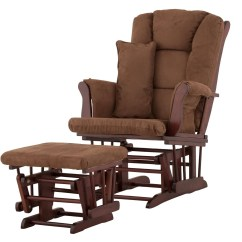 Rocking Chair Ottoman Cushions Zero Gravity Reclining Chairs Glider Rocker Set Home Design Ideas