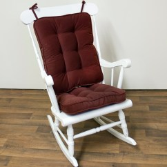 Cushions For Glider Chairs How To Decorate A Baby Shower Chair Rocker Replacement Ebay Home Design Ideas