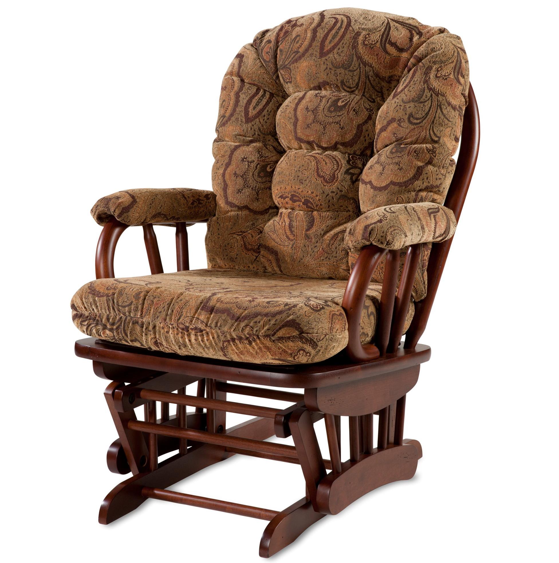 glider chair and ottoman replacement cushions hickory rocker only home design ideas