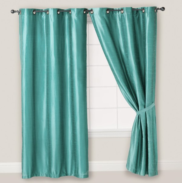 Blue 108 Inch Curtains Panels