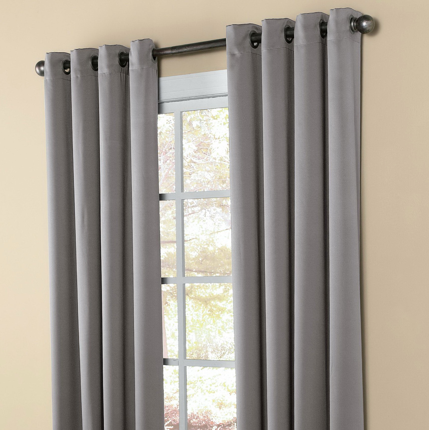 Grommet Blackout Curtains Walmart Home Design Ideas