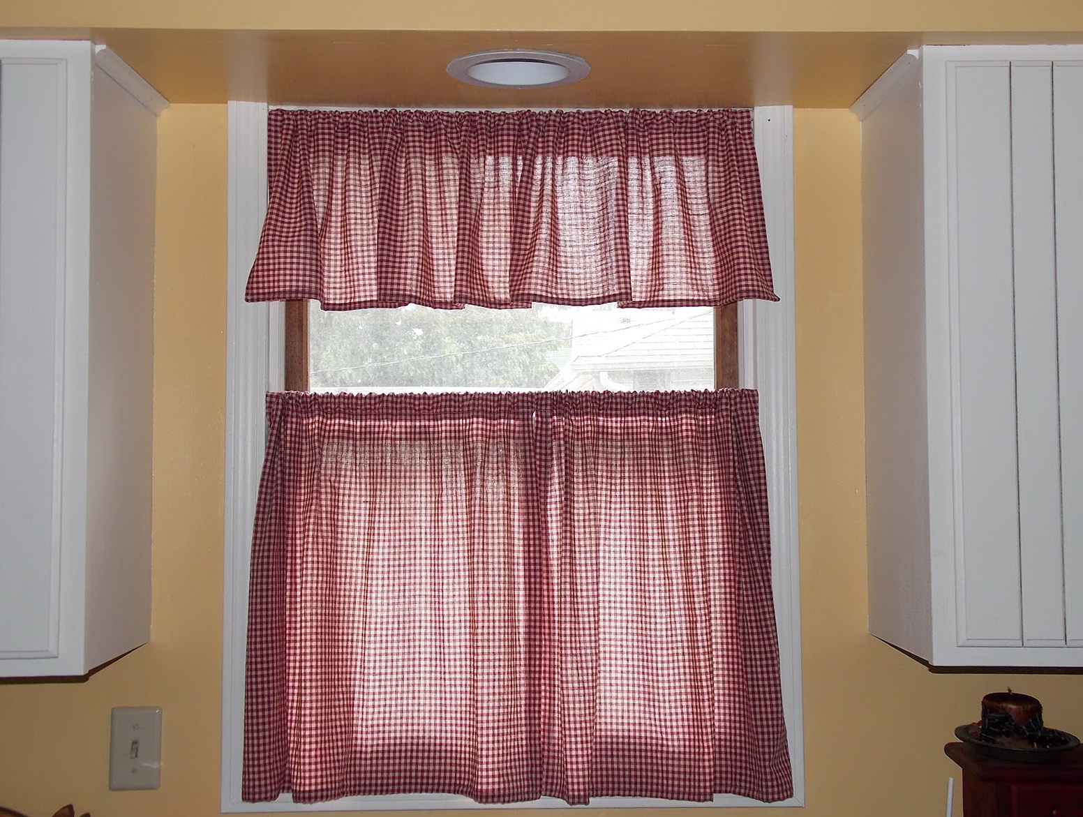 bay window kitchen curtains products cafe modern | home design ideas