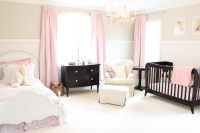 Pink And White Curtains For Nursery | Home Design Ideas