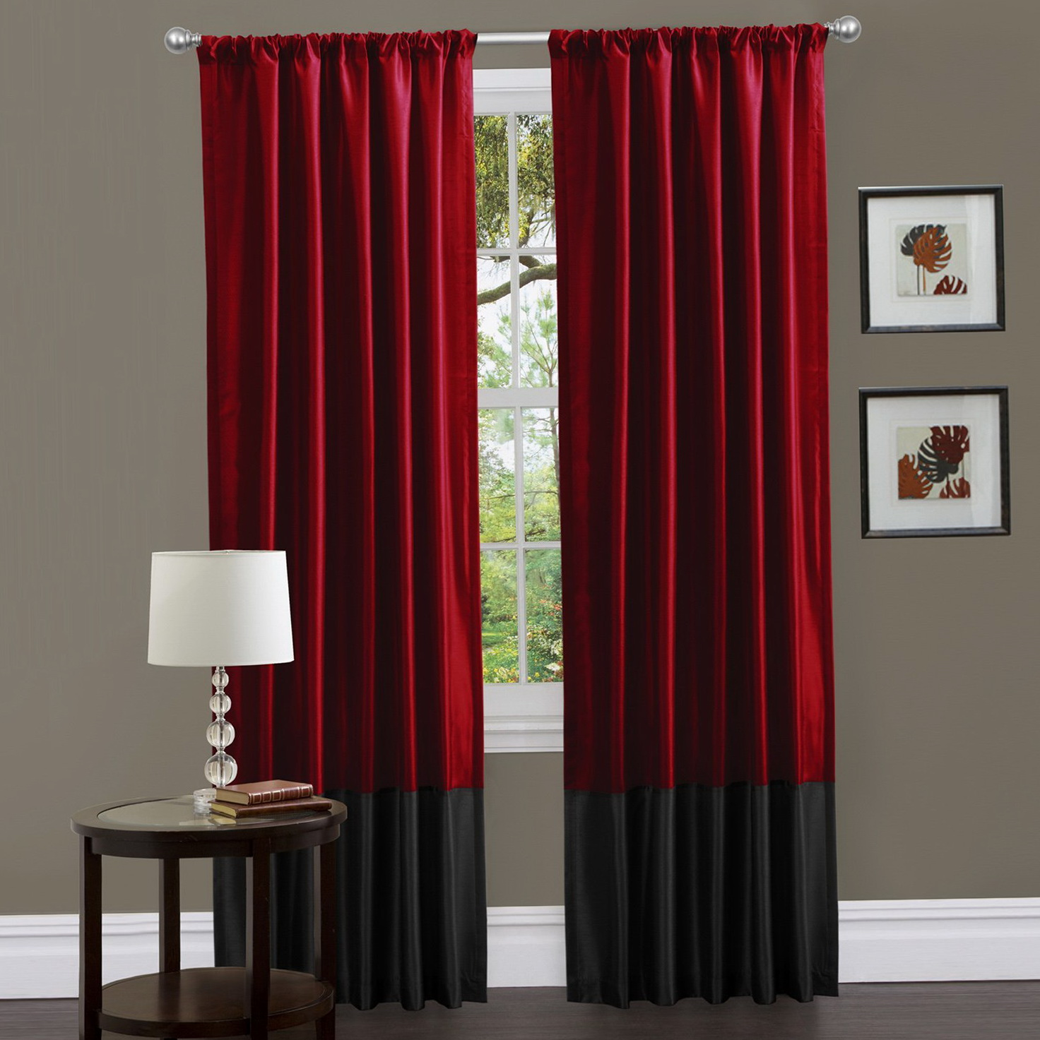 Red Blackout Curtains Canada Home Design Ideas