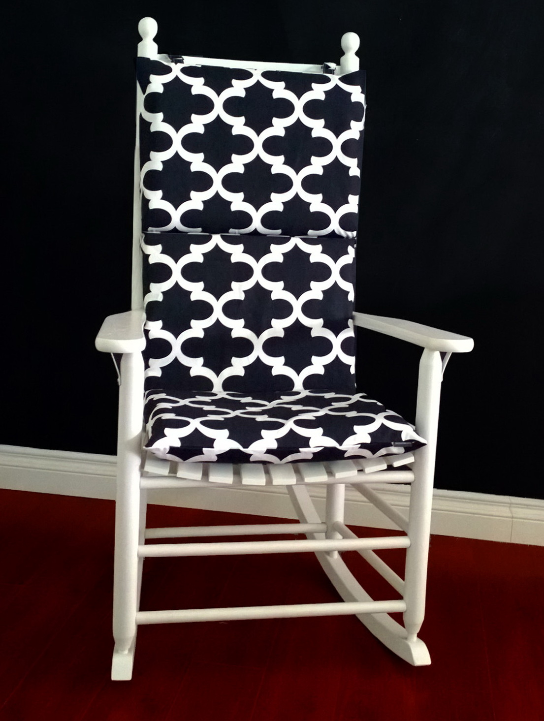 rocking chair cushion covers walmart leather home design ideas