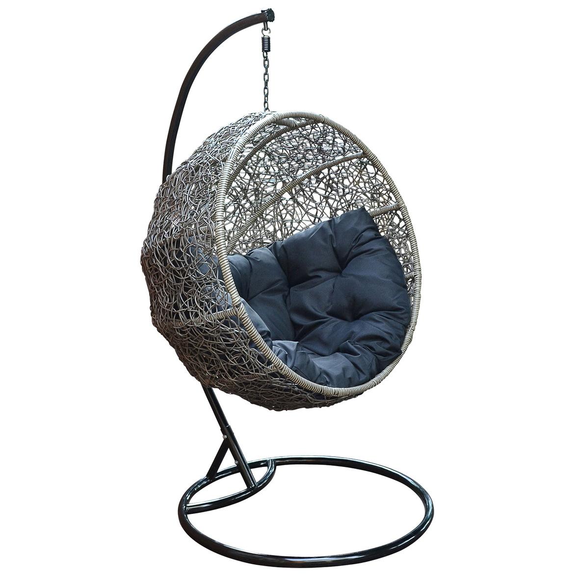 circular bamboo chair cushion brown leather executive desk round rattan cushions home design ideas