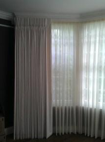 Sheer Pinch Pleated Curtains Home Design Ideas