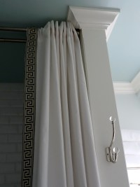 Shower Curtain Rod Height From Floor | Home Design Ideas